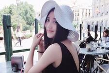 浙江传媒学院校花张璐 留学英国女生(图)