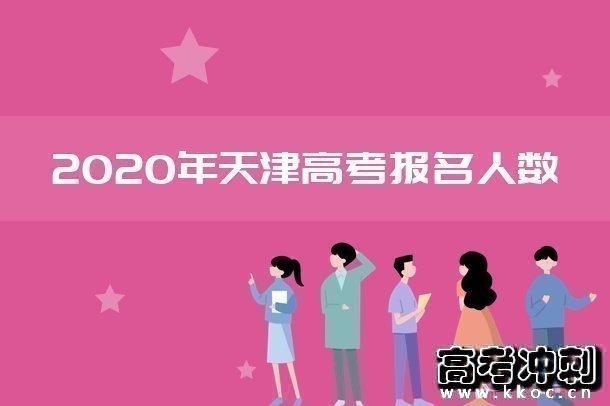 2020年天津高考报名人数及历年高考人数