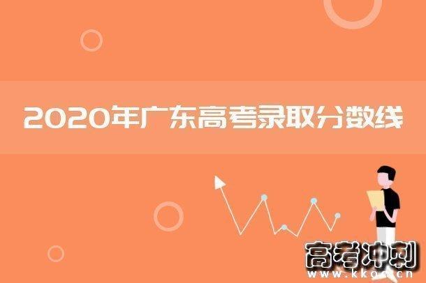 2020广东提前批非军检院校投档分数线