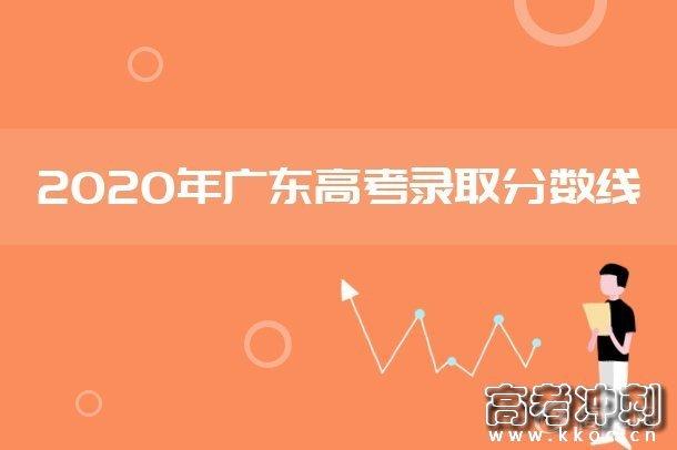 2020广东本科提前批征集志愿第一次投档分数线