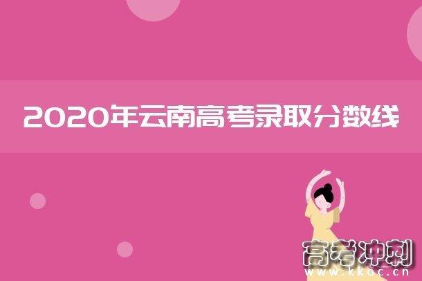 2020云南免费医学生及公费师范生控制分数线(理科)